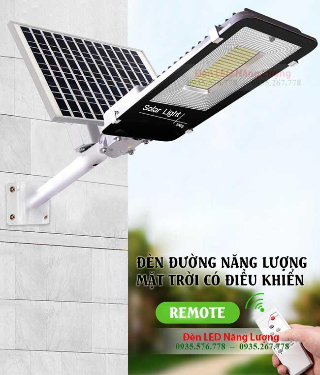 đèn đường led năng lượng mặt trời có điều khiển bằng remote