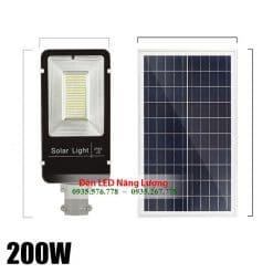 đèn đường năng lượng mặt trời 200W chính hãng giá rẻ