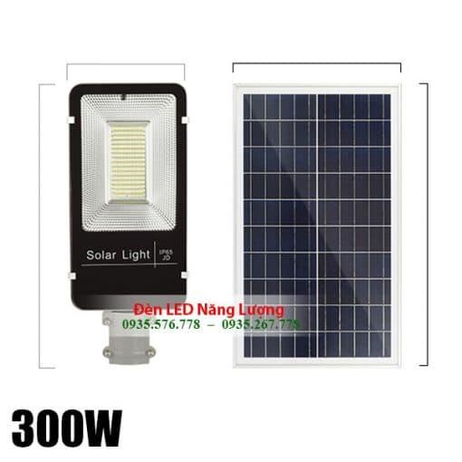 đèn đường năng lượng mặt trời 300w chính hãng giá rẻ