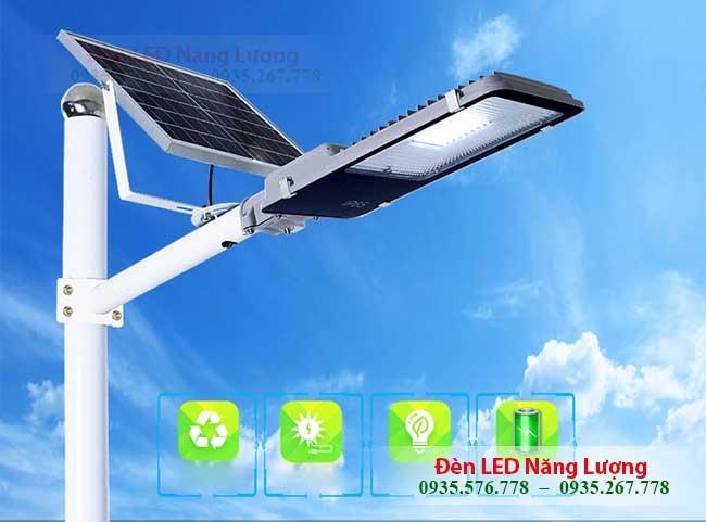 đèn đường năng lượng mặt trời 400w chính hãng giá rẻ