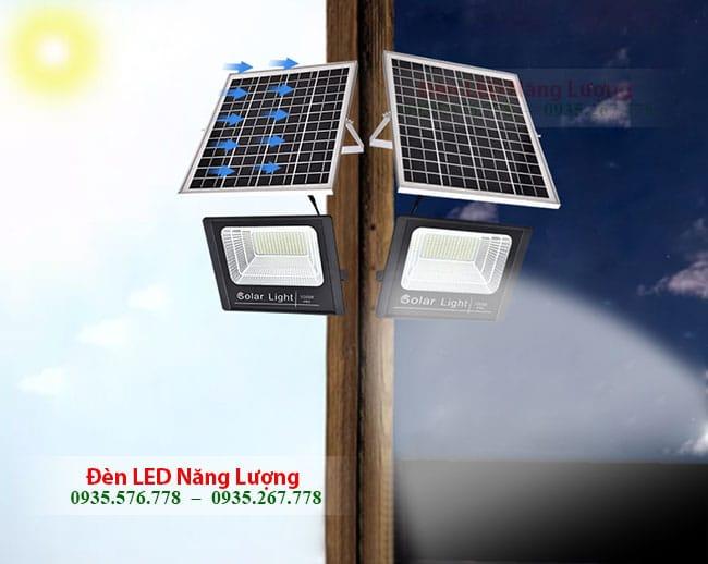 đèn cảm ứng năng lượng mặt trời tự động sáng vào ban đêm