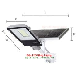 đèn led đường năng lượng mặt trời cao cấp chính hãng