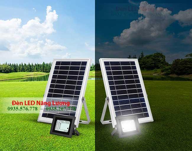 đèn năng lượng mặt trời cảm biến