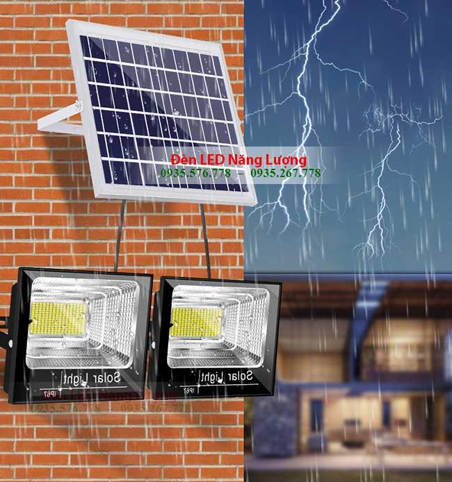 đèn năng lượng mặt trời chính hãng chống nước cực tốt 1