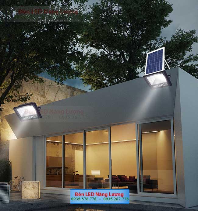 đèn năng lượng mặt trời chống trộm cho gia đình