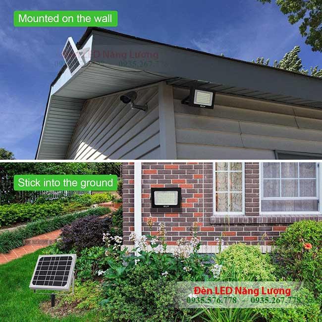 đèn năng lượng mặt trời ngoài trời cho gia đình