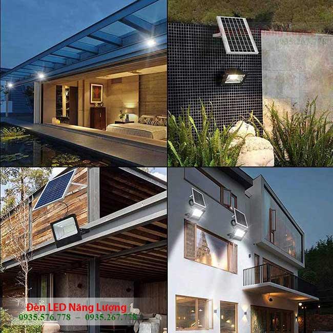 đèn năng lượng mặt trời sân vườn 1