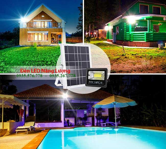 đèn năng lượng mặt trời trong nhà và sân vườn