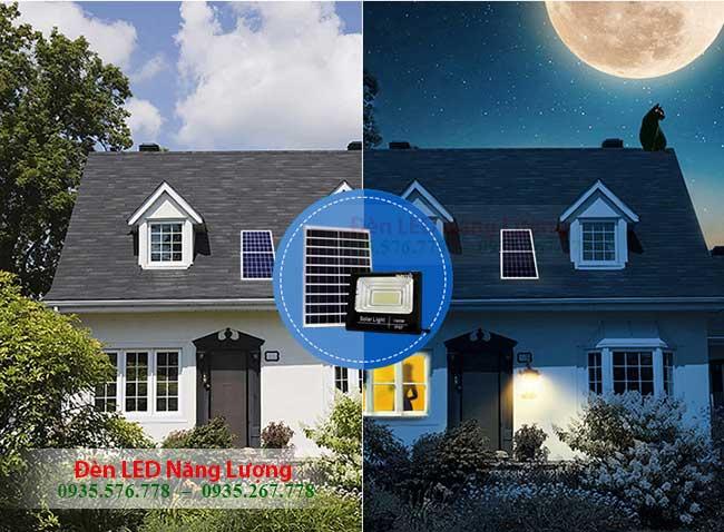 đèn năng lượng solar có cảm biến tự động bật tắt