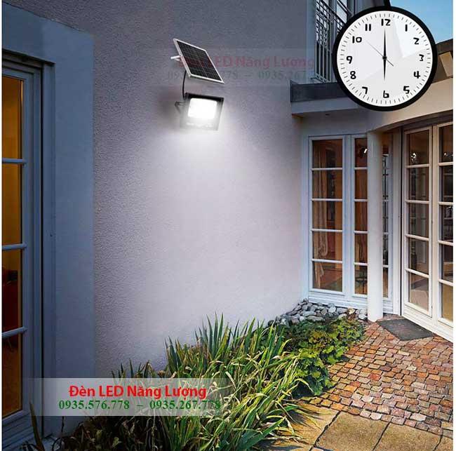 đèn tích điện năng lượng mặt trời phát sáng ban đêm tự động 1