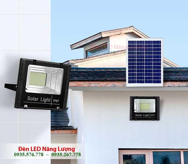 bộ đèn năng lượng mặt trời ngoài trời 1