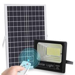 Đèn pha năng lượng mặt trời 200W NL200