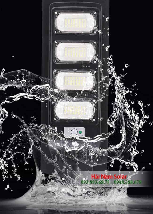 Đèn năng lượng mặt trời liền thể 200 W chống nước tốt