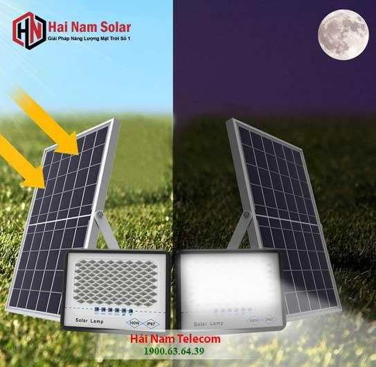 den chong loa nang luong mat tro 100W topsolar solar lighti 1