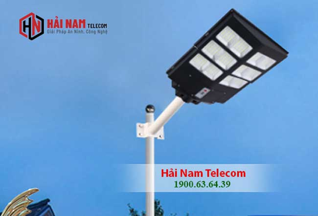 Đèn Đường Năng Lượng Mặt Trời 300W MD-2X66300B12 Liền Thể Giá Rẻ | Solar Light 300W