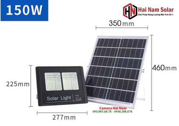 den pha nang luong mat troi 150w solar light