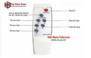 Hướng dẫn cách sử dụng đèn năng lượng mặt trời Solar Light bằng Remote