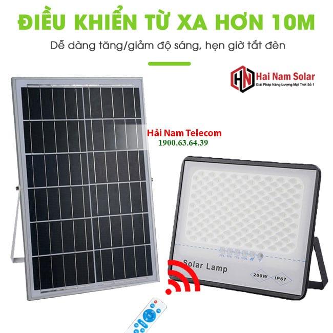 den led nang luong mat troi chong choi 200w solar light 5