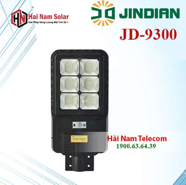 Đèn Năng Lượng Mặt Trời 300W JD-9300 Chính hãng Jindian, Giá Rẻ