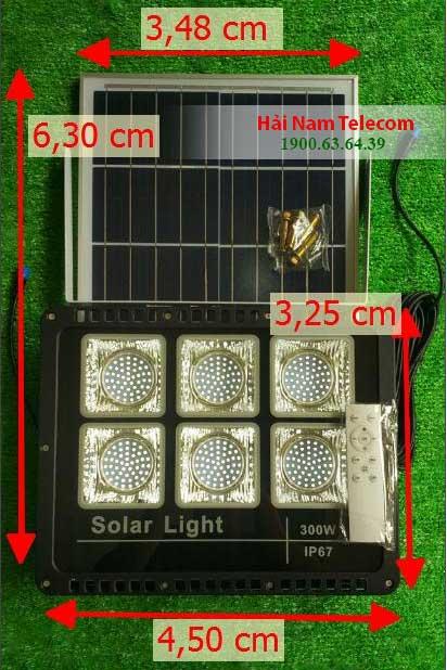 Đèn Pha Năng Lượng Mặt Trời 300W VR86300