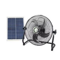 quat nang luong mat troi solar fan 5 canh