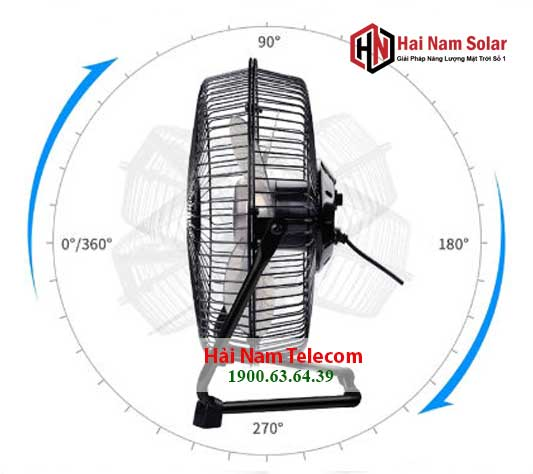 quat nang luong mat troi solar fan 5 canh chinh hang 3